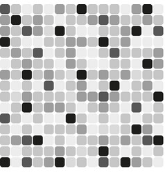 background mosaic gray vector image