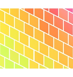 Background with colorful rhombs vector