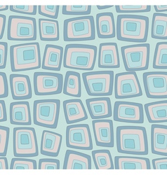 Blue seamless pattern vector image