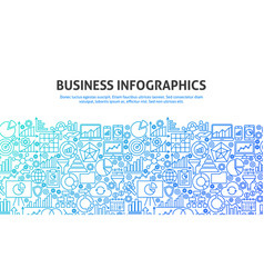 Business infographics concept vector