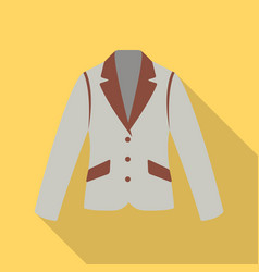 Business jacket icon of for vector