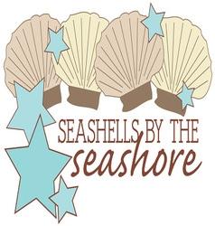 By The Seashore vector