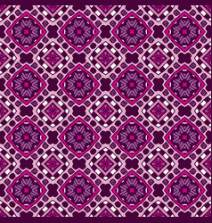 ethnic seamless geometric pattern design surface vector image
