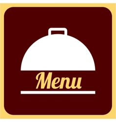 food menu vector image