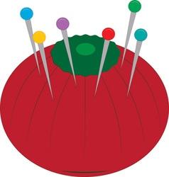 Tomato Pin Cusion vector