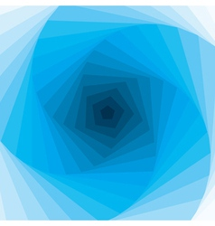 abstract blue swirl background vector image vector image