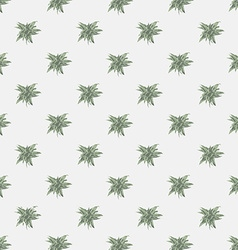seamless texture with abstract leaves Endless vector image