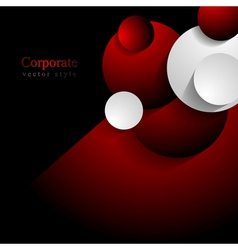 Concept abstract backdrop vector image