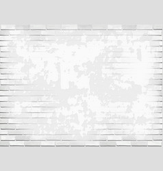stucco wall brick background white vector image