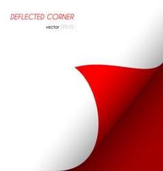Deflected corner vector