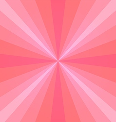 pink sunray vector image