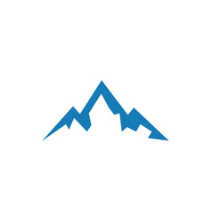 mountain logo icon element design template vector image