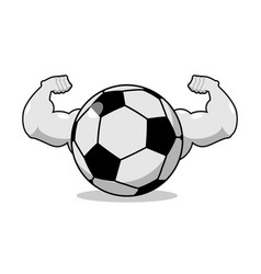Strong football powerful gaming accessory vector