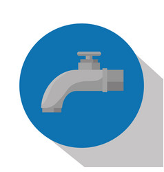 tap water isolated icon vector image
