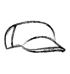 cartoon baseball cap accessory clothes vector image