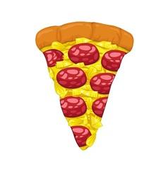Pizza Slice vector image