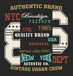 typography sport new vector image vector image