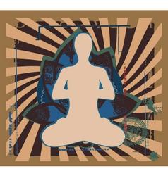 Yoga zen vector