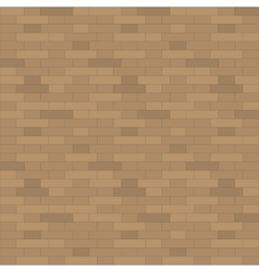 Brown brick wall background vector