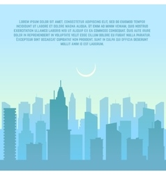 City skyline urban cityscape vector