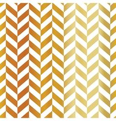 Gold chevron seamless pattern Golden gradient vector image
