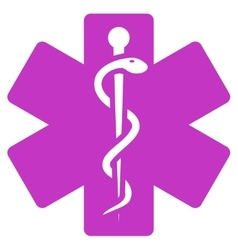 Life Star Icon vector