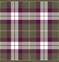purple and gray tartan plaid seamless pattern vector image