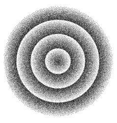 retro background 1980s style dotwork stipplism vector image