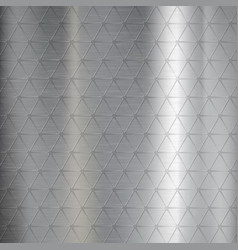 textured brushed metal from pattern vector image
