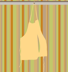 Hanging Apron vector image