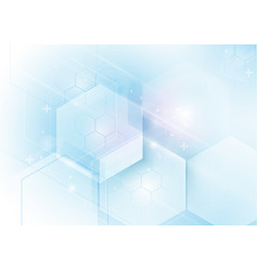 abstract geometric technology concept background vector image vector image