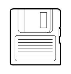 diskette vector image