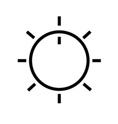 volume control button vector image