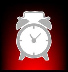 alarm clock style vector image