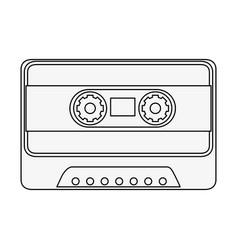 Casette icon image vector
