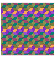 colorful box background pattern vector image