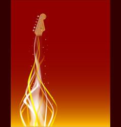 Dancing in fire vector