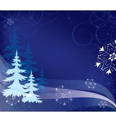 for christmas holidays vector image