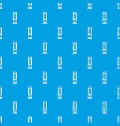 Oil heater pattern seamless blue vector
