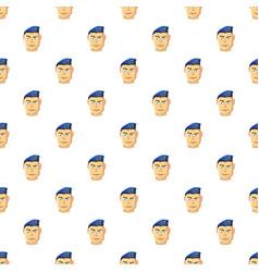 Paratrooper pattern vector