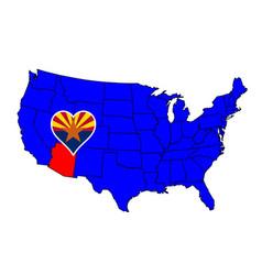 State of arizona vector