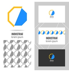 Business logo for company vector image