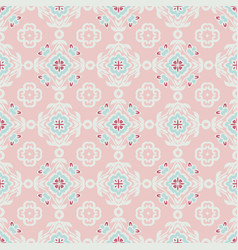 cute abstract ethnic vintage seamless pattern vector image