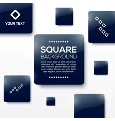 Design Squares Concept vector image