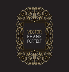 geometric frame with copy space vector image