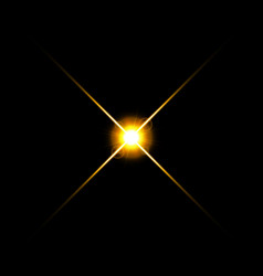 Gold warm color bright lens flare flashes leak for vector