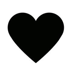 Heart healthy love feeling symbol icon vector