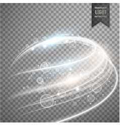 light effect awesome design vector image