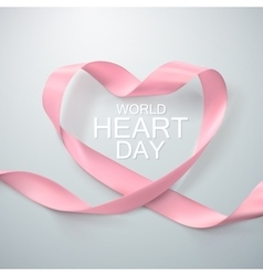 World Heart Day Background vector