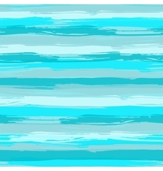 seamless pattern with blue brush strokes vector image vector image
